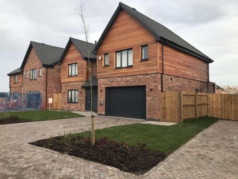 Nantwich - Over 50% of Phase 1 now SOLD