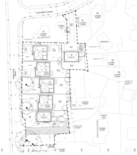 Oswestry site plan