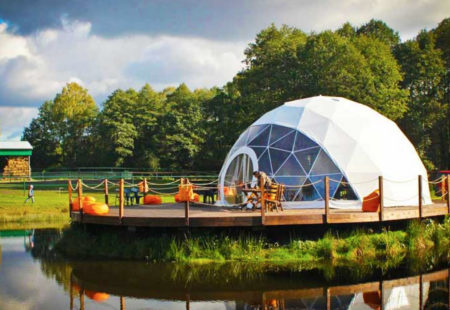 The Marches School Reveals Plans for New Eco-dome