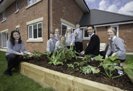 Tesni Homes gives The Marches School an eco-helping hand